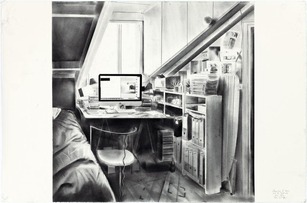 dibujo espacio interior yves belorgey