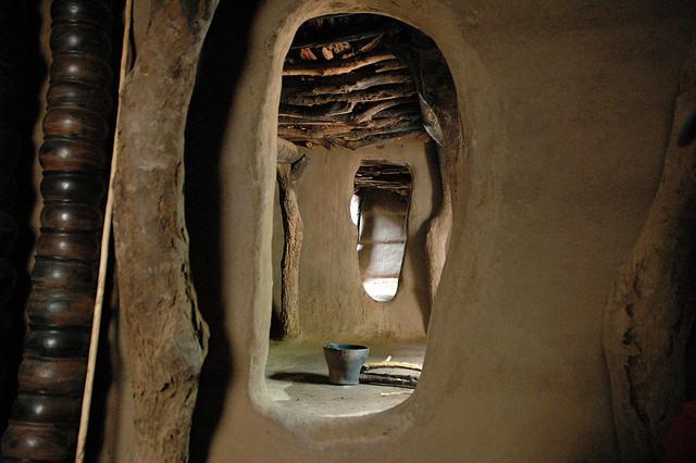 Casa tradicional en Mali