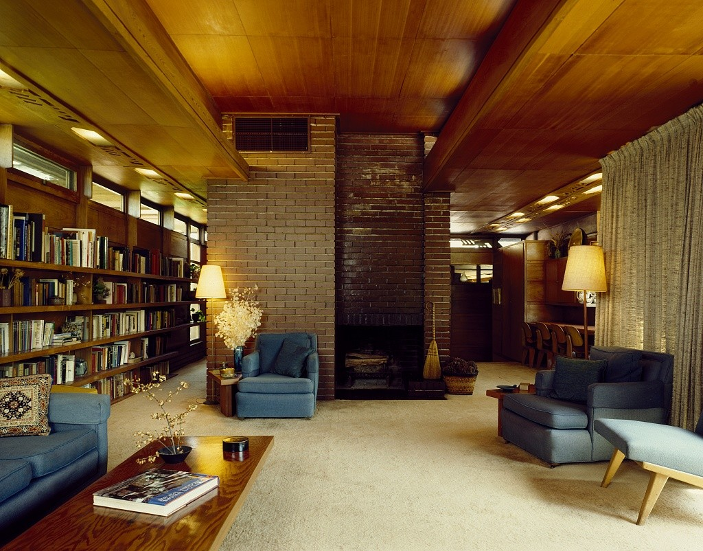 Rosenbaum House. Frank Lloyd Wright, 1940.